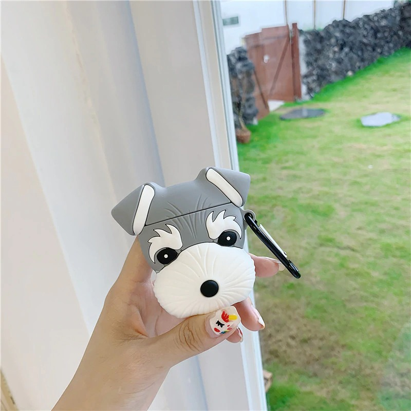 3For Airpods Pro_cute-dog-schnauzer-earphone-headset-case_variants-2