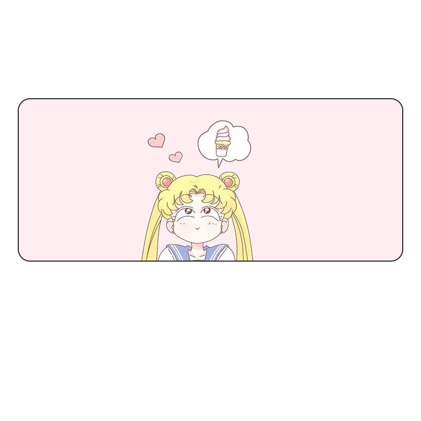 Kawaii Sailor Moon Ice Cream Mouse Pad