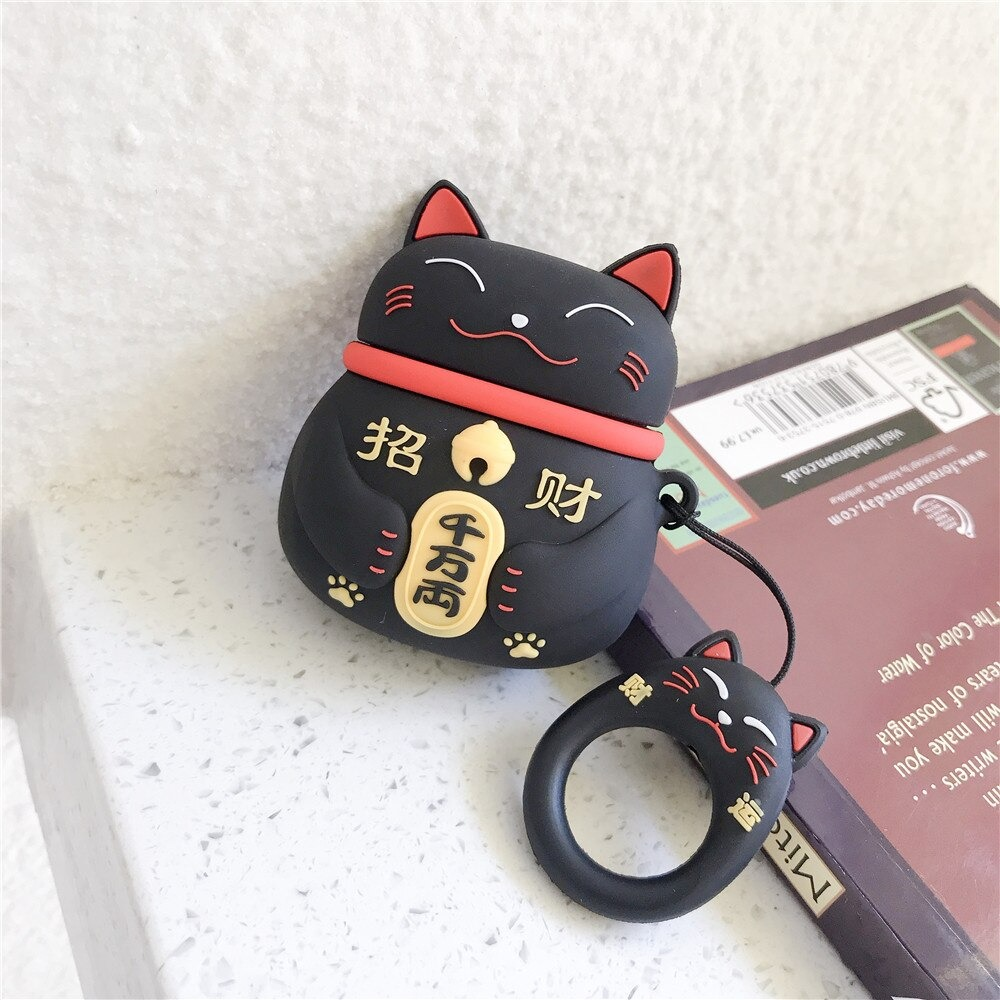 For Airpods 1 2_hipal-cute-lucky-cat-case-for-airpods-1_variants-0