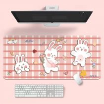 kawaii-dance-bunny-mouse-pad