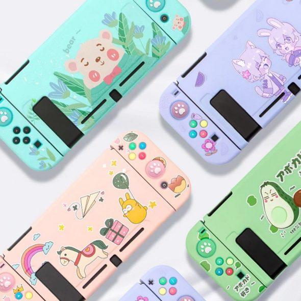 kawaii-cartoon-paradise-nintendo-switch-case