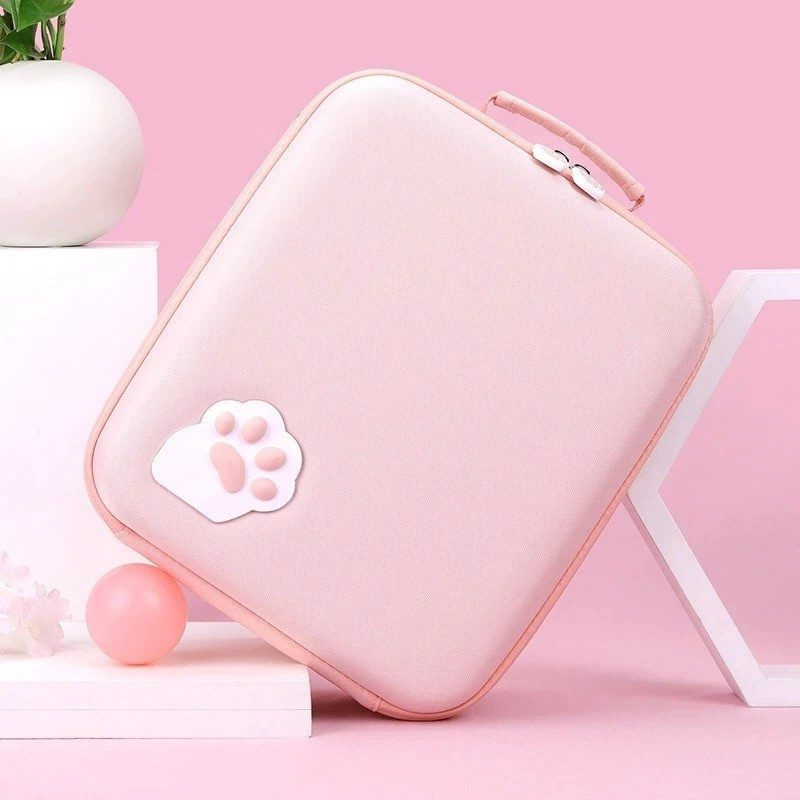 Kawaii Cat Paw Nintendo Switch Carrying Travel Case