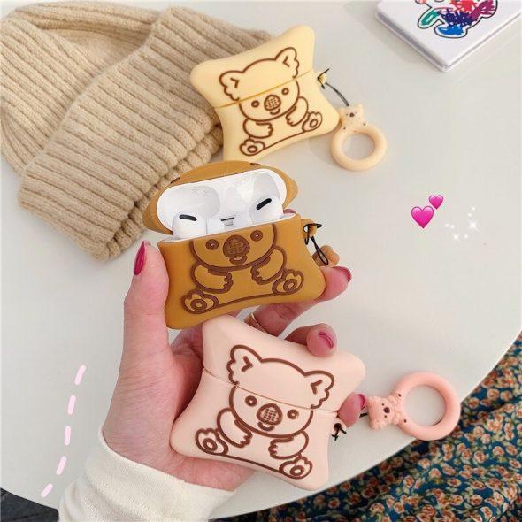 kawaii-koala-bear-cookie-airpods-case