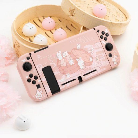 kawaii-dumpling-bunny-nintendo-switch-case