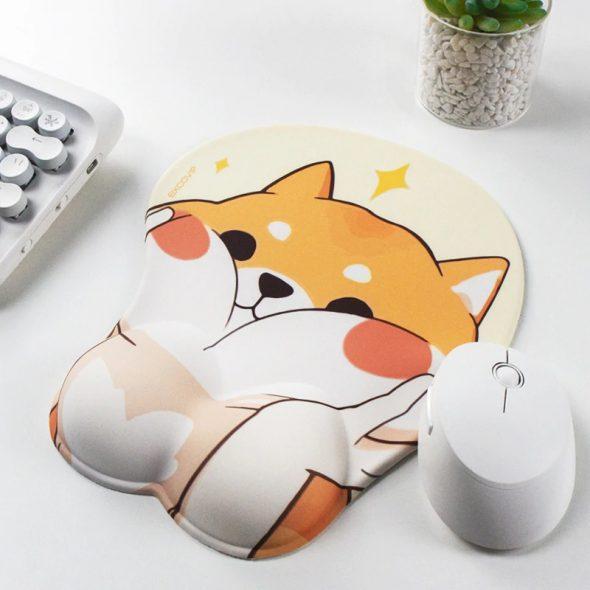 kawaii-corgi-face-mouse-pad-with-wrist-rest