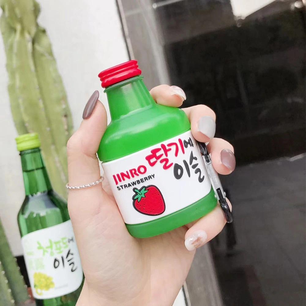for Airpods 2 1_ot-korean-soju-strawberry-jinro-wireles_variants-0