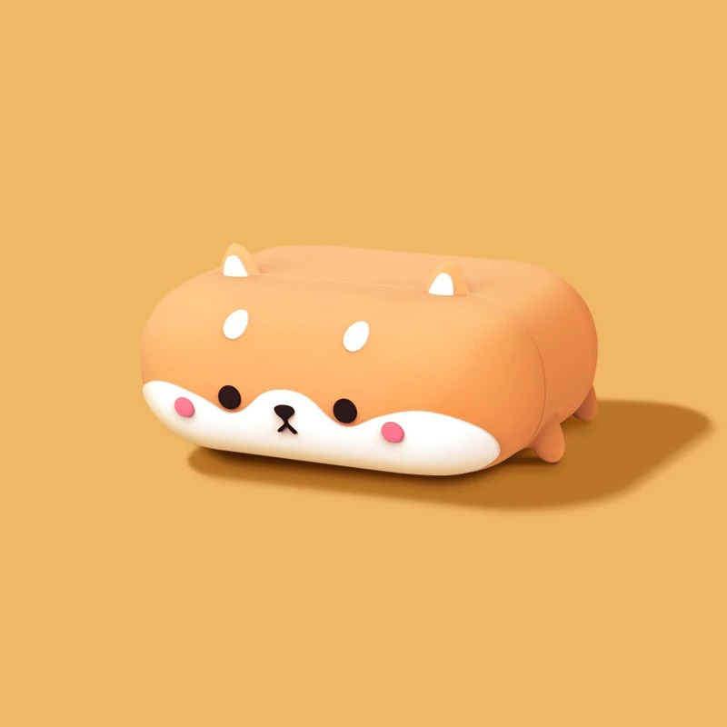 for airpods pro_ns-cute-shiba-inu-soft-silicone-cover-f_variants-0