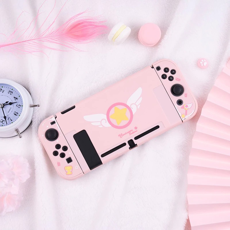Kawaii Cardcaptor Sakura Nintendo Switch Case Bundle
