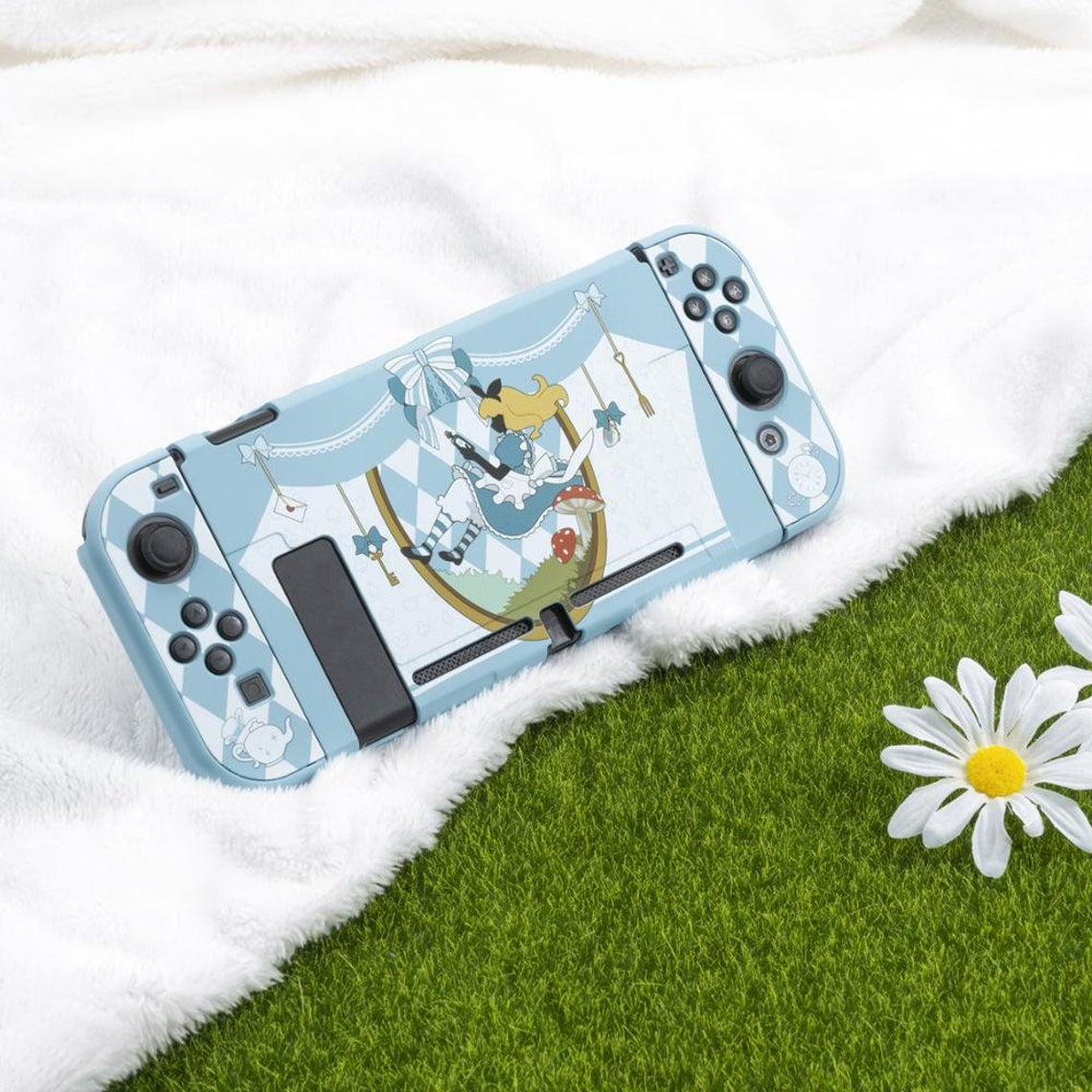 kawaii-alice-in-wonderland-nintendo-switch-case
