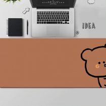 kawaii-brown-bear-mouse-pad