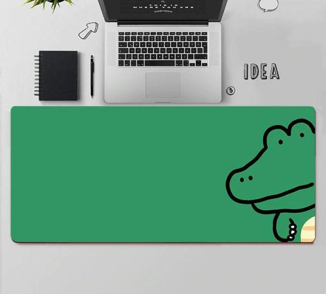 kawaii-alligator-mouse-pad