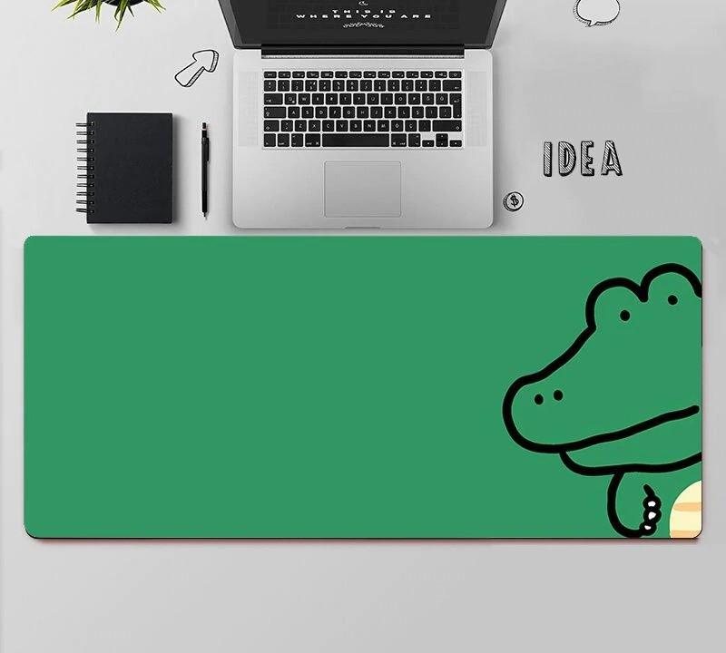 Kawaii Alligator Mouse Pad