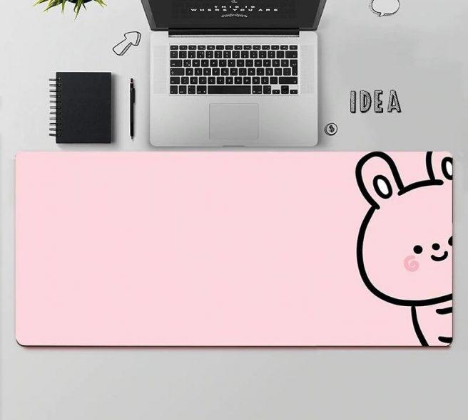 kawaii-bunny-mouse-pad