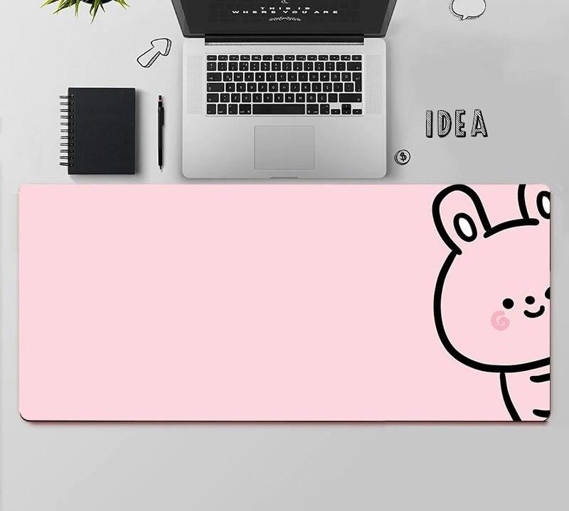 Kawaii Bunny Mouse Pad