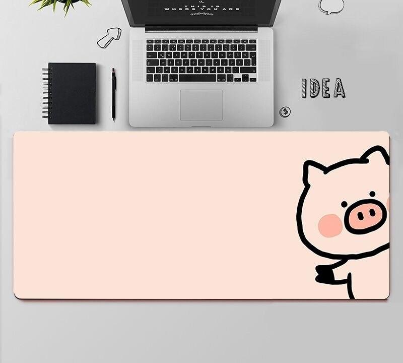 Kawaii Pig Mouse Pad