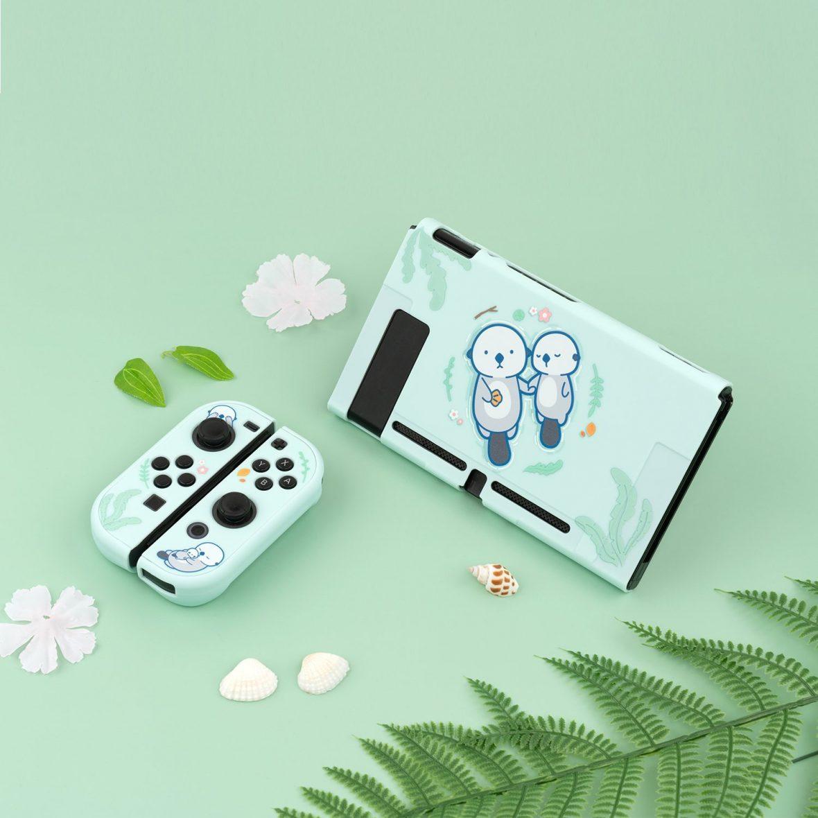 Kawaii Sea Otter Nintendo Switch & Switch Lite Case