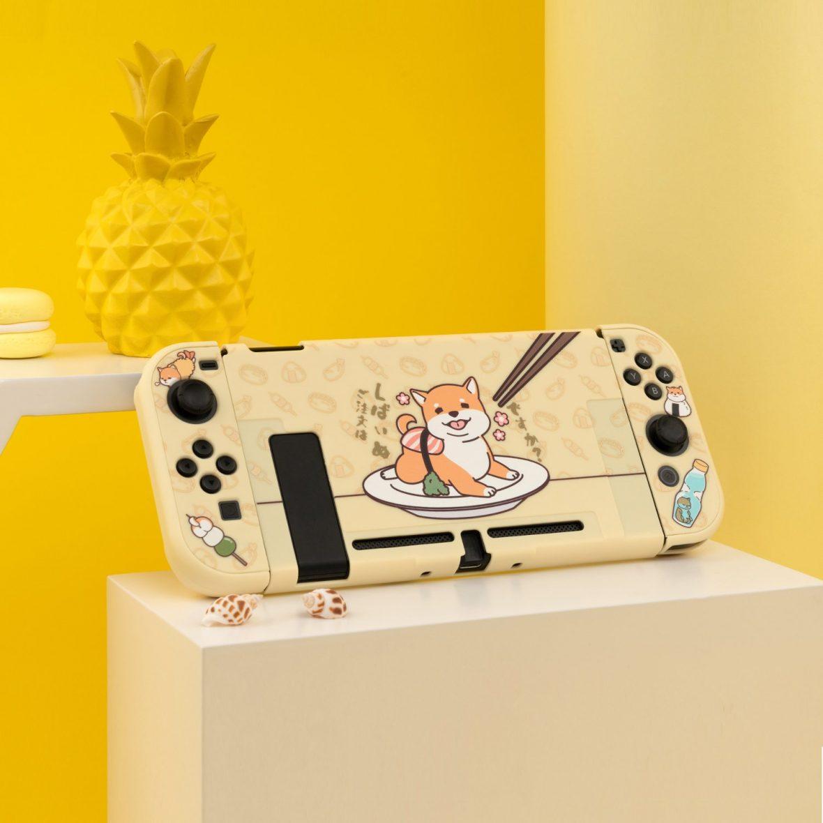Kawaii Shiba Inu Nintendo Switch & Switch Lite Case