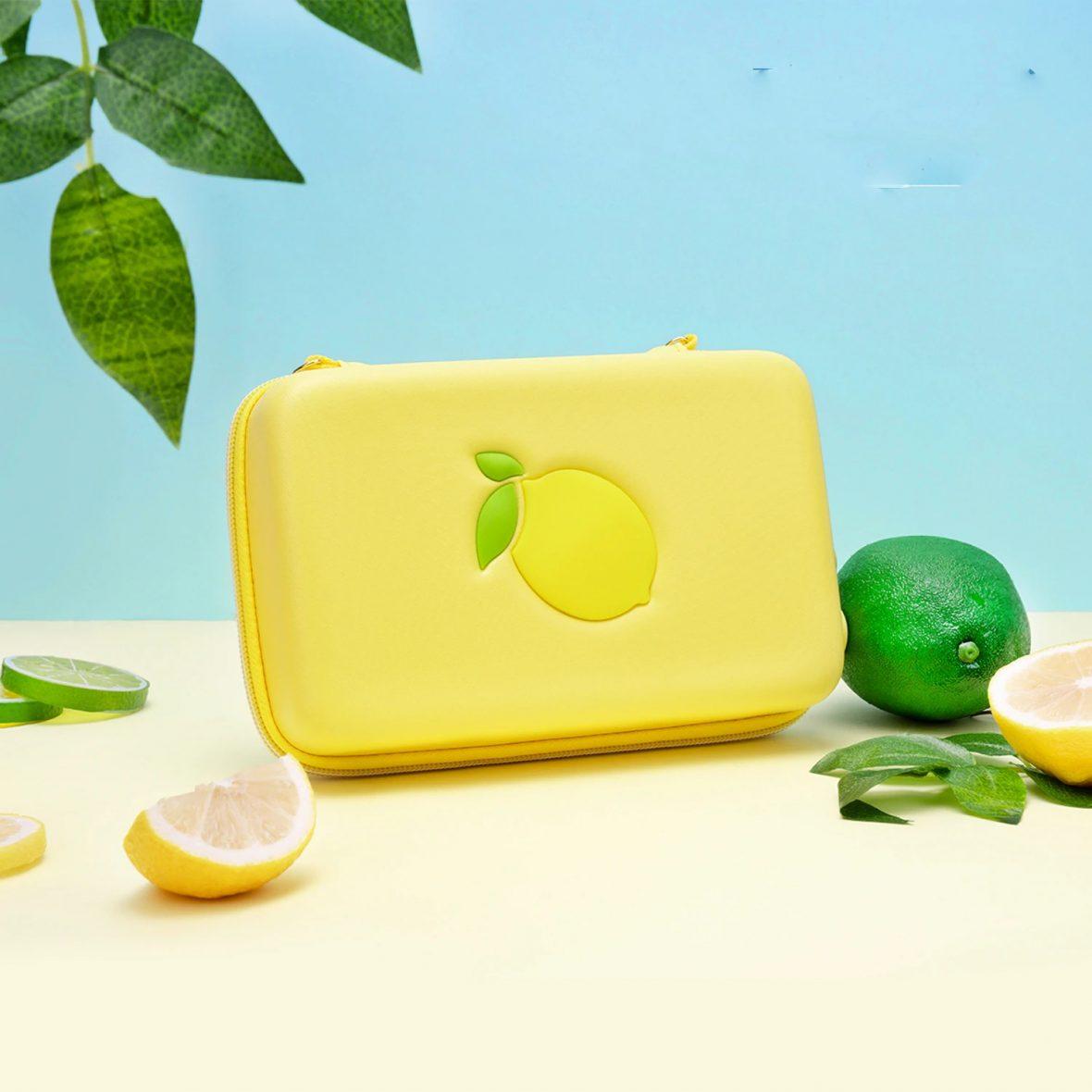 Kawaii Lemon Nintendo Switch Carrying Case