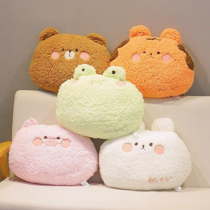 Kawaii Animals Back Seat Cushion