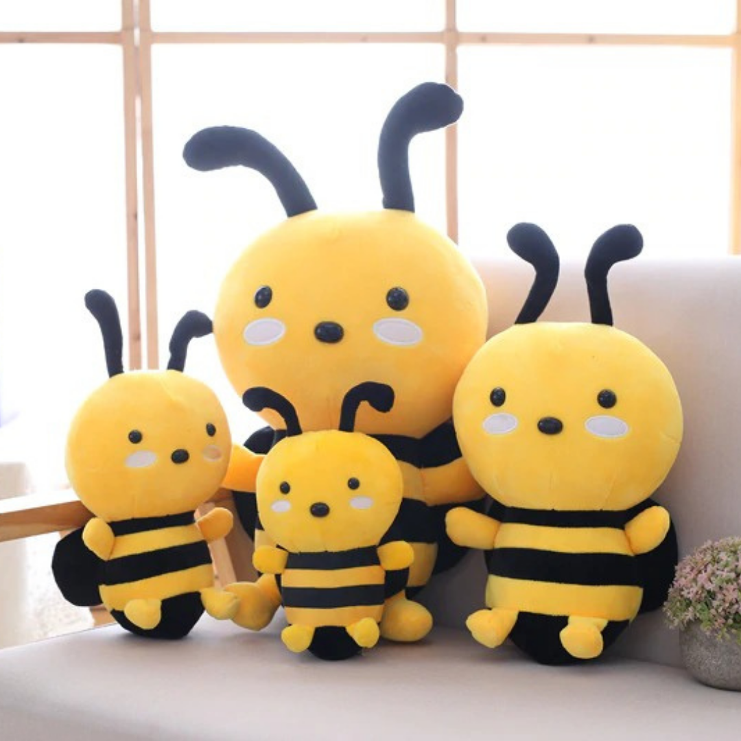 Kawaii Bumble Bee Plush