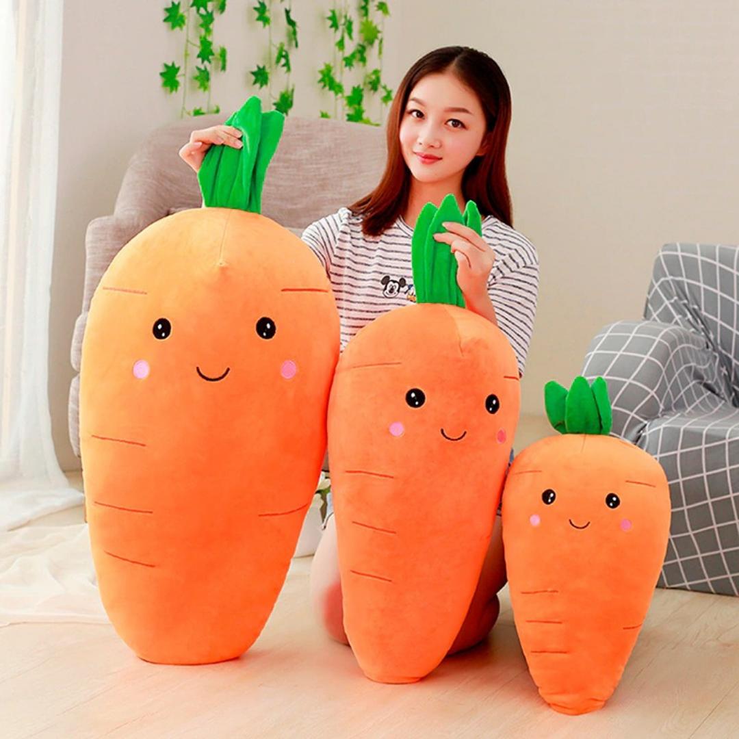 Kawaii Carrot Plush