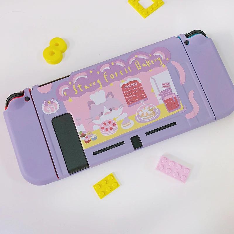 Kawaii Cat Bakery Nintendo Switch Case