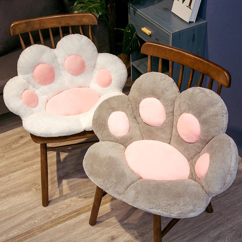 Kawaii Cat Paw Seat Cushion