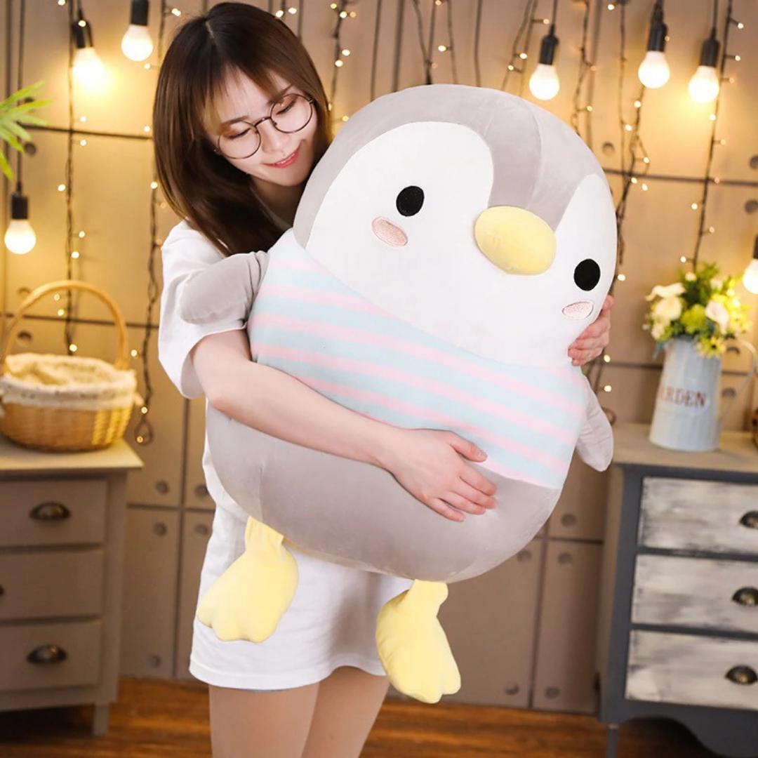 Kawaii Chubby Penguin Plush