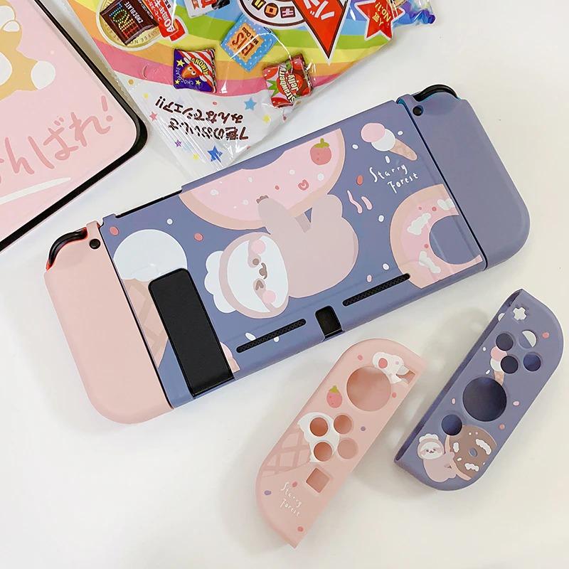 kawaii-donut-sloth-switch-case-1