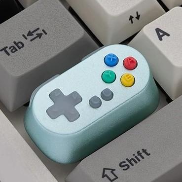 kawaii-game-controller-keycap-blue