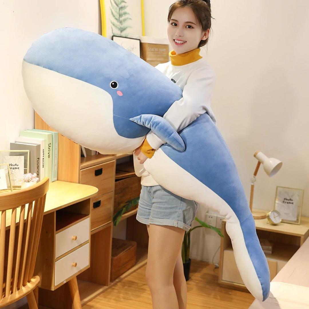 Kawaii Giant Whale Plush