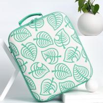 kawaii-green-leaf-nintendo-switch-carrying-travel-case
