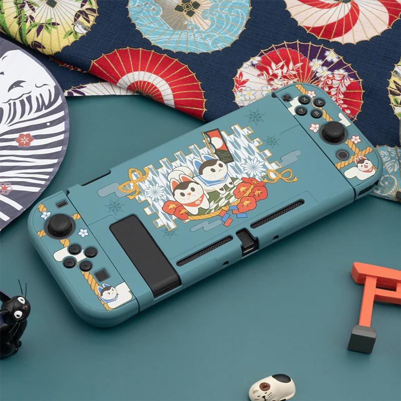 Kawaii Guardian Dogs Nintendo Switch Case