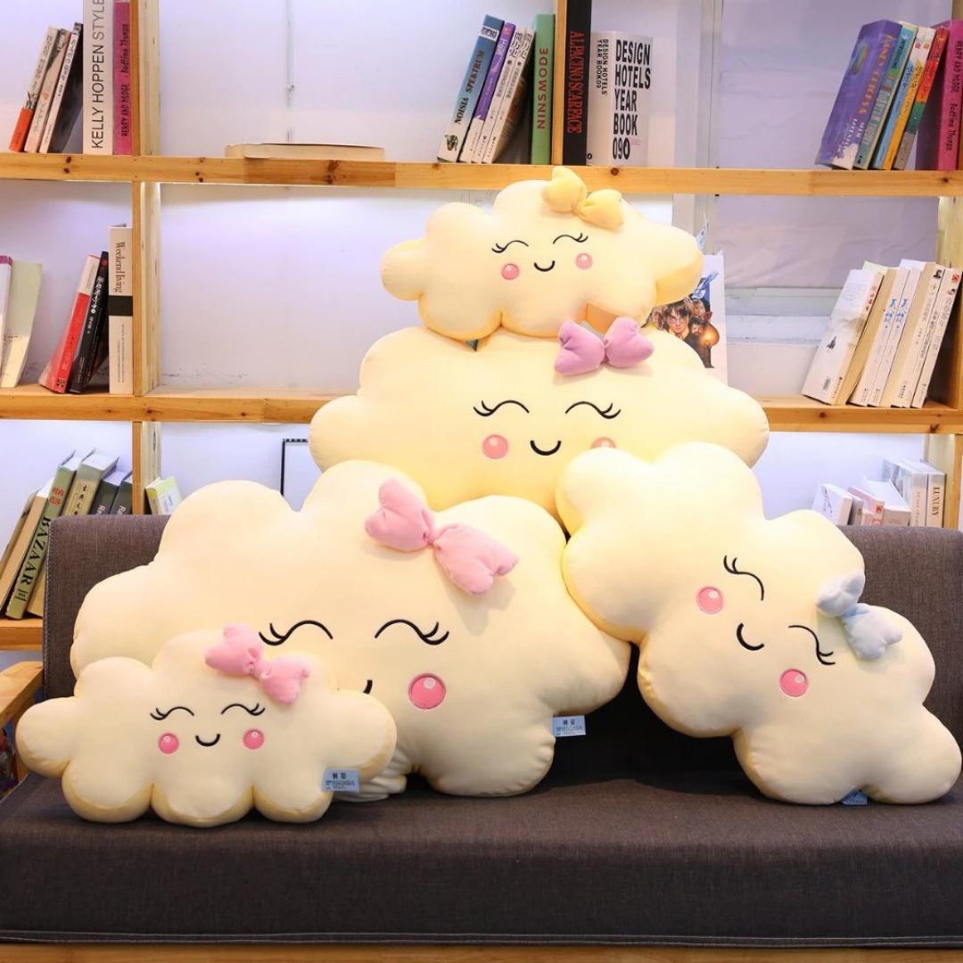 Kawaii Happy Cloud Plush