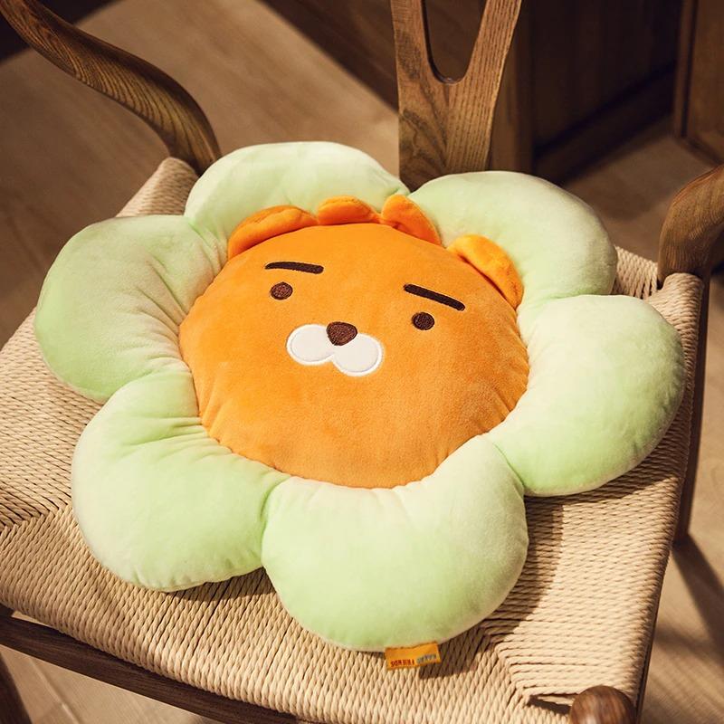 kawaii-kakao-friends-flower-seat-cushion-1