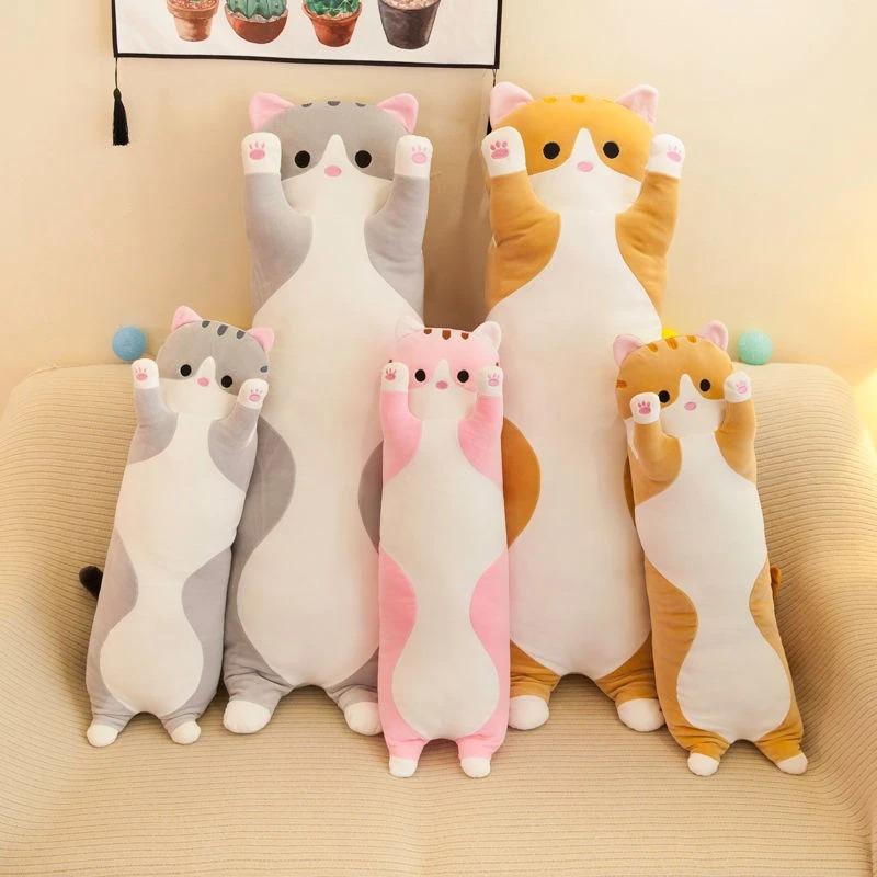 Kawaii Long Cat Plush