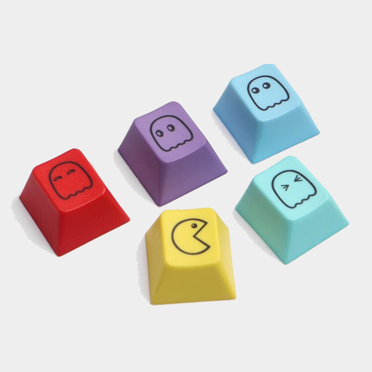Kawaii Pacman Keycaps