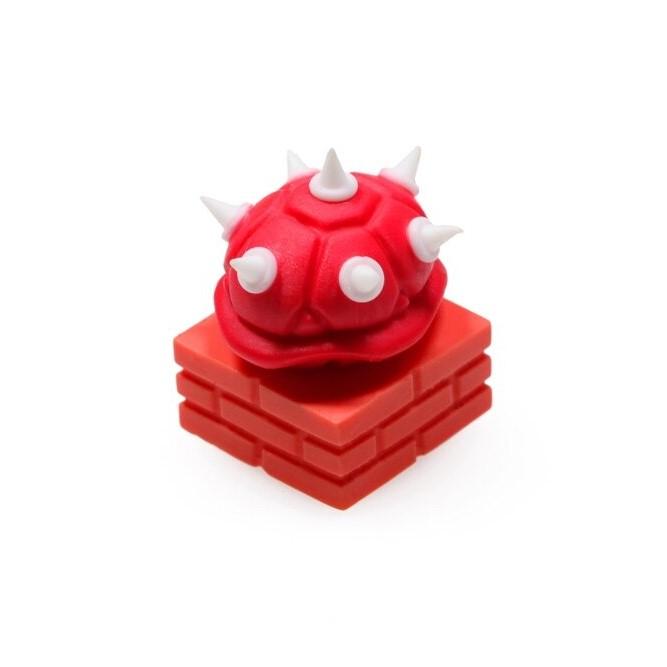 kawaii-spiked-shell-resin-keycap-3