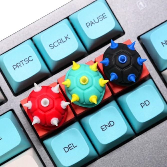 kawaii-spiked-shell-resin-keycap-7