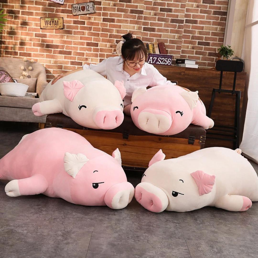 Kawaii Squishy Piggy Plush