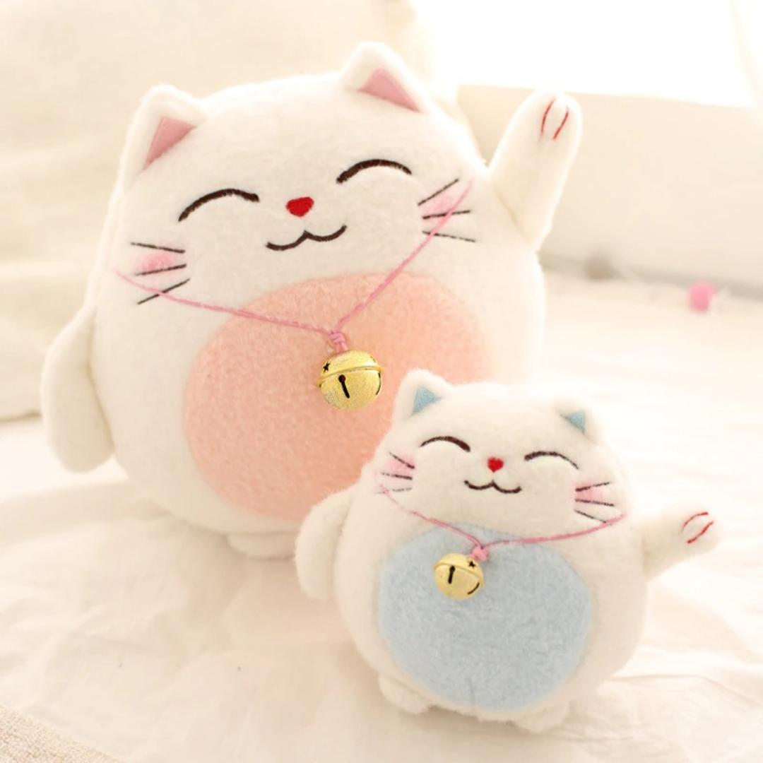 Kawaii Lucky Cat Plush